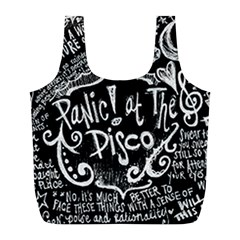 Panic ! At The Disco Lyric Quotes Full Print Recycle Bags (l)