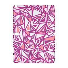Conversational Triangles Pink White Galaxy Note 1