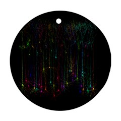 Brain Cell Dendrites Ornament (round)