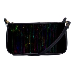 Brain Cell Dendrites Shoulder Clutch Bags