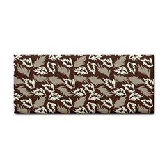 Dried Leaves Grey White Camuflage Summer Cosmetic Storage Cases