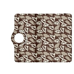 Dried Leaves Grey White Camuflage Summer Kindle Fire Hdx 8 9  Flip 360 Case