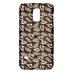 Dried Leaves Grey White Camuflage Summer Galaxy S5 Mini