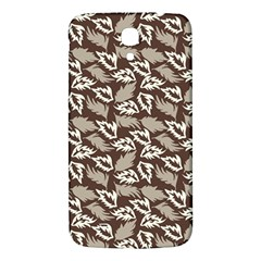 Dried Leaves Grey White Camuflage Summer Samsung Galaxy Mega I9200 Hardshell Back Case