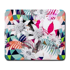 Flower Graphic Pattern Floral Large Mousepads