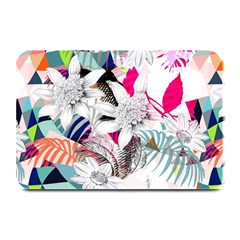 Flower Graphic Pattern Floral Plate Mats