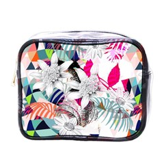 Flower Graphic Pattern Floral Mini Toiletries Bags