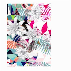 Flower Graphic Pattern Floral Large Garden Flag (two Sides)