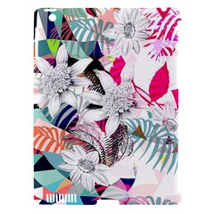 Flower Graphic Pattern Floral Apple Ipad 3/4 Hardshell Case (compatible With Smart Cover)