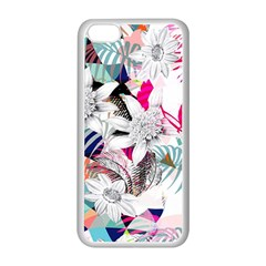 Flower Graphic Pattern Floral Apple Iphone 5c Seamless Case (white)