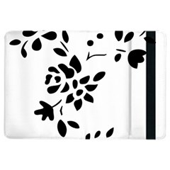 Flower Rose Black Sexy Ipad Air 2 Flip
