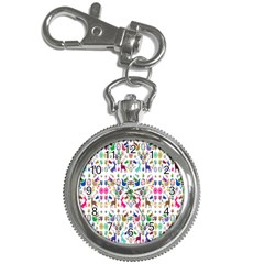 Birds Fish Flowers Floral Star Blue White Sexy Animals Beauty Rainbow Pink Purple Blue Green Orange Key Chain Watches