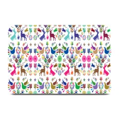 Birds Fish Flowers Floral Star Blue White Sexy Animals Beauty Rainbow Pink Purple Blue Green Orange Plate Mats