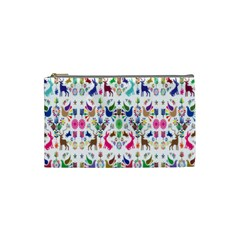 Birds Fish Flowers Floral Star Blue White Sexy Animals Beauty Rainbow Pink Purple Blue Green Orange Cosmetic Bag (small)