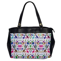Birds Fish Flowers Floral Star Blue White Sexy Animals Beauty Rainbow Pink Purple Blue Green Orange Office Handbags