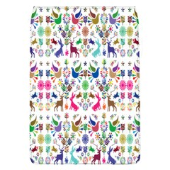 Birds Fish Flowers Floral Star Blue White Sexy Animals Beauty Rainbow Pink Purple Blue Green Orange Flap Covers (l)