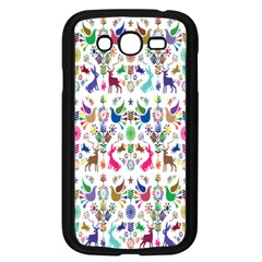 Birds Fish Flowers Floral Star Blue White Sexy Animals Beauty Rainbow Pink Purple Blue Green Orange Samsung Galaxy Grand Duos I9082 Case (black)