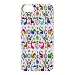 Birds Fish Flowers Floral Star Blue White Sexy Animals Beauty Rainbow Pink Purple Blue Green Orange Apple Iphone 5s/ Se Hardshell Case