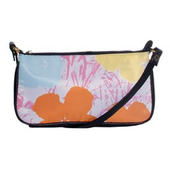 Flower Sunflower Floral Pink Orange Beauty Blue Yellow Shoulder Clutch Bags