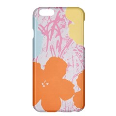 Flower Sunflower Floral Pink Orange Beauty Blue Yellow Apple Iphone 6 Plus/6s Plus Hardshell Case