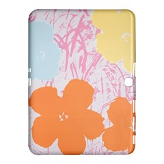 Flower Sunflower Floral Pink Orange Beauty Blue Yellow Samsung Galaxy Tab 4 (10 1 ) Hardshell Case