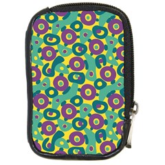 Discrete State Turing Pattern Polka Dots Green Purple Yellow Rainbow Sexy Beauty Compact Camera Cases