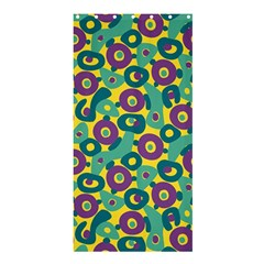 Discrete State Turing Pattern Polka Dots Green Purple Yellow Rainbow Sexy Beauty Shower Curtain 36  X 72  (stall)