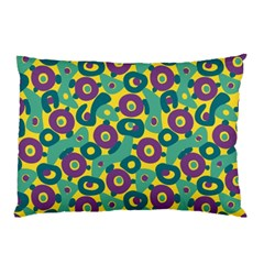 Discrete State Turing Pattern Polka Dots Green Purple Yellow Rainbow Sexy Beauty Pillow Case (two Sides)