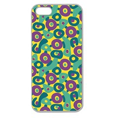 Discrete State Turing Pattern Polka Dots Green Purple Yellow Rainbow Sexy Beauty Apple Seamless Iphone 5 Case (clear)