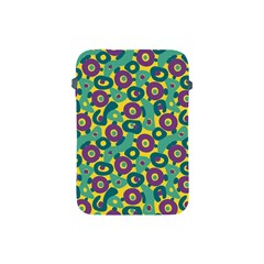 Discrete State Turing Pattern Polka Dots Green Purple Yellow Rainbow Sexy Beauty Apple Ipad Mini Protective Soft Cases