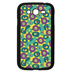 Discrete State Turing Pattern Polka Dots Green Purple Yellow Rainbow Sexy Beauty Samsung Galaxy Grand Duos I9082 Case (black)
