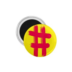 Fun Ain t Gone Fence Sign Red Yellow Flag 1 75  Magnets