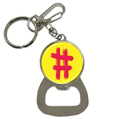 Fun Ain t Gone Fence Sign Red Yellow Flag Button Necklaces