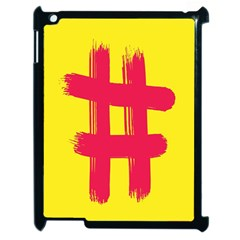 Fun Ain t Gone Fence Sign Red Yellow Flag Apple Ipad 2 Case (black)