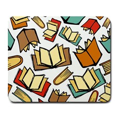Friends Library Lobby Book Sale Large Mousepads