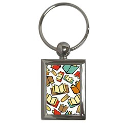 Friends Library Lobby Book Sale Key Chains (rectangle)