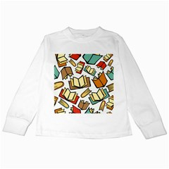 Friends Library Lobby Book Sale Kids Long Sleeve T Shirts