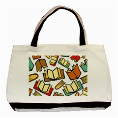 Friends Library Lobby Book Sale Basic Tote Bag (two Sides)