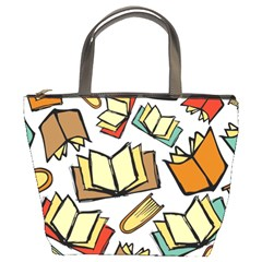 Friends Library Lobby Book Sale Bucket Bags
