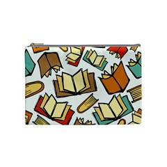 Friends Library Lobby Book Sale Cosmetic Bag (medium)