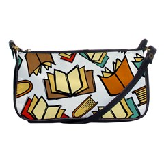 Friends Library Lobby Book Sale Shoulder Clutch Bags