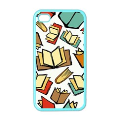 Friends Library Lobby Book Sale Apple Iphone 4 Case (color)