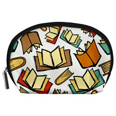 Friends Library Lobby Book Sale Accessory Pouches (large)