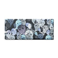 Ghosts Blue Sinister Helloween Face Mask Cosmetic Storage Cases
