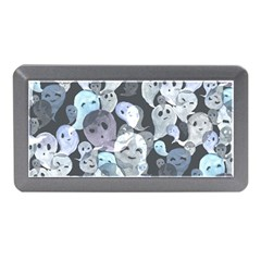 Ghosts Blue Sinister Helloween Face Mask Memory Card Reader (mini)