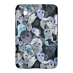 Ghosts Blue Sinister Helloween Face Mask Samsung Galaxy Tab 2 (7 ) P3100 Hardshell Case