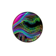 Aurora Wave Colorful Space Line Light Neon Visual Cortex Plate Hat Clip Ball Marker (4 Pack)