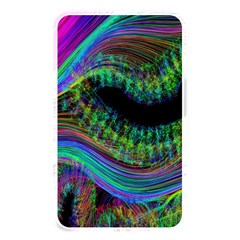 Aurora Wave Colorful Space Line Light Neon Visual Cortex Plate Memory Card Reader