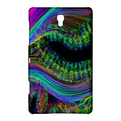 Aurora Wave Colorful Space Line Light Neon Visual Cortex Plate Samsung Galaxy Tab S (8 4 ) Hardshell Case