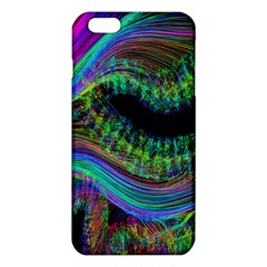 Aurora Wave Colorful Space Line Light Neon Visual Cortex Plate Iphone 6 Plus/6s Plus Tpu Case